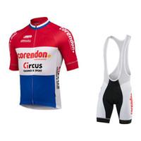 Traje SPTGRVO Lairschda Corendon-CIRCO-equipo de ciclismo ropa de verano para hombre Establece la montaña bici Jersey manga corta de MTB Kits de Ropa