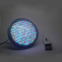 Lampe LED Par56 en PVC + ABS Matériau 54W UnderWater Light AC12V Pour votre piscine Fontaine Jardin Jardin