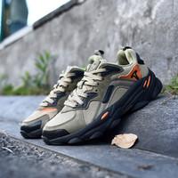 2020 Nueva llegada Treeperi Fashion Chunky 700 Casual Shoes para Hombres Black Olive Total Naranja 3M Reflexivo de Zapatillas de deporte de diseño de alta calidad