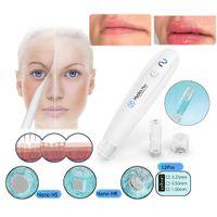 2020 Wireless Hydrapen H2 Derma cura della pelle Stamp automatico Siero Applicatore Hydra Penna Penna microneedling Derma con 2pcs cartuccia dell'ago