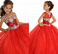 Little Girl' s Pageant Dresses Birthday Party 2019 Toddl...