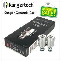 Bobines de bobine de céramique Kanger Head 0.5ohm SSOCC BOILS POUR LA VIEUX ANT KRAKEN KRAKEN V2 SOUS-OHM Karken V2.5 Tank Kangertech Sous-banque sous-banque Mini plus Toptank Nebox