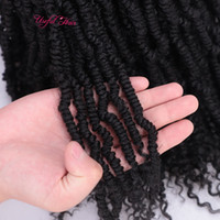 24strands Bomb Twist Ombre Nubian Twist Hair Black Marley Extensions Synthety Jamaican Bounce Fluffy Bomb Bomb Twist Crochet Braids For Passion