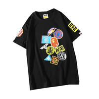 summer foreign trade new youth casual cartoon printing round...