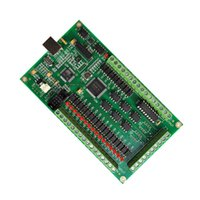 Piezas de la máquina CNC 4 Axis CNC Controlador de movimiento USB Tarjeta de control USB MACH3 200KHZ Interfaz de tablero de ruptura para la máquina de enrutador CNC DIY