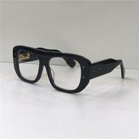 مصمم الأزياء النظارات البصرية غران مربع الإطار الرجعية نمط بسيط نظارات شفافة أعلى جودة عدسات واضحة مع القضية