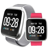 NOVO para Apple iPhone Y7 inteligente aptidão esporte pulseira Phone Tracker Assista Waterproof Heart Rate Monitor Pulseira pk Versa