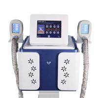 Yeni 2 tutamak cryolipolysis yağ dondurma makinesi vücut zayıflama makinesi kilo kaybı kriyoterapi yağ freezen klinik