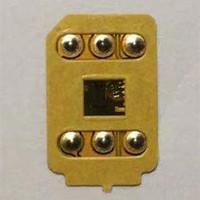 Gratis DHL 3M lim Guldfärg VSIM V8 Låsekort för IP6S 7 8 X XS XR XSMAX 11PRO SE 12 Gevey Pro