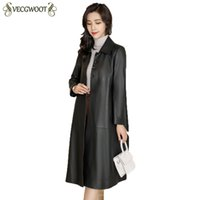 Sheep Skin Coat Women 2018 New High Quality Fashion Casual L...