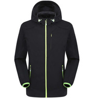cappotto nuovo esterna degli uomini antivento impermeabile casuale SoftShell cappotto giacca calda gli uomini