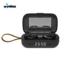 M13 TWS ماء بلوتوث 5.0 سماعة ستيريو سماعات لاسلكية الرياضة لاسلكية سماعات الأذن التي تعمل باللمس مع مضيا على مدار الساعة
