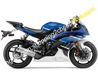 Para Yamaha Yzfr6 YZF R6 YZFR600 SPORT MOTORBIKE MOTOCICLYCLE FARATING SET 2008 09 10 11 12 13 14 15 2016 (moldagem por injeção)