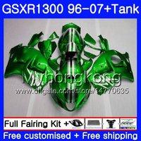 Körper für SUZUKI Hayabusa GSXR 1300 GSXR1300 96 97 98 99 00 01 07 333HM.0 GSX R1300 1996 1997 1998 1999 2000 2001 2007 Verkleidungs Metall grün