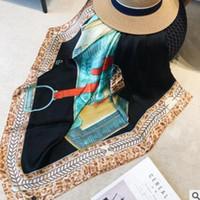 Национальный ветер полоса печати имитирует чистый шелк шарф модные женские Джокер лето солнце экран шарф пляжное полотенце Оптовая