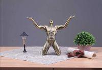 추상 사람들은 홈 장식 HD22을위한 현대 조각 동상 장식 공예 모양