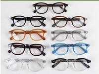 Nuevo diseño lemtosh gafas gafas gafas de sol calidad superior gafas redondas sunglases marco Arrow Rivet 1915 S M L