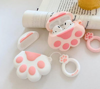 12 epacket new Cartoon cat claw Headphone Cover Silicone pro...