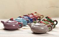 الصينية التقليدية الجليد الكراك قناع الشاي وعاء، تصميم أنيق تصميم الشاي خدمة، الصين الأحمر إبريق الشاي الهدايا الإبداعية 2021