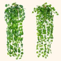 4 styles suspendus vigne feuilles de verdure artificielle plantes artificielles laisse guirlande maison jardin décorations de mariage décor