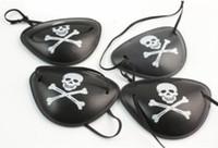 القراصنة العين تصحيح الجمجمة عظمتان هالوين حزب الإحسان حقيبة زي الاطفال لعبة