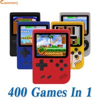 400 in 1 Portable Handheld Games Console Game Pad Retro 8 bi...
