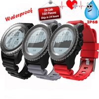 Monitor de ritmo cardíaco S968 Sport impermeable Bluetooth GPS Smartwatch para Android IOS Phone watch S968 inteligente