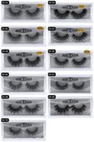 HOT New 3D Vison Cils Cils Messy Eye Extension Sexy Cils Strip complet Cils par fibre chimique expédition DHL épais gratuit