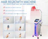NEW Hair Growth Products New 650nm Diode Laser Hair Regrowth Machine hair salon equipment