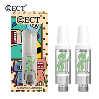 Original ECT Alien cartridge 0. 5ml 1. 0ml ceramic coil 510 th...