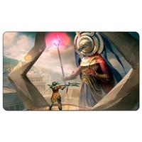 Juego de mesa mágico Tapete de juego: Tah-Crop Skirmisher MtG Art 60 * 35cm tamaño Estera de la mesa Alfombrilla de ratón Jugar Matwitch fantasía oculta oscura hembra wizard2Trial o
