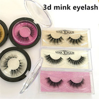 3d Mink Hair Fake Eyelash mink HAIR false eyelashes natural ...