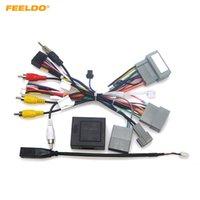 Harnais de câblage stéréo stéréo stéréo de la voiture de Feeldo avec CANBUS + USB pour HONDA XR-V (15-17) / Vézelle (15-18) / Jade (13-17) / FIT (14-19) # 6521