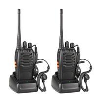 2 stücke feevis h777 walkie talifie 16ch 2-wege Radio USB mit Kopfhörer Handheld Walkie Talkie Kommunikation Geräte Radio Sender