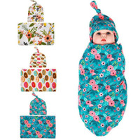 Baby Bedding Clothing 2pcs Soft Infant Muslin Swaddle Newbor...