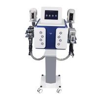 휴대용 5에서 1 캐비테이션 한 Cryolipolysis 지방 냉동 슬리밍 기계 냉동 요법 얼굴 RF 피부 초음파 RF Lipo 레이저 기계를 조