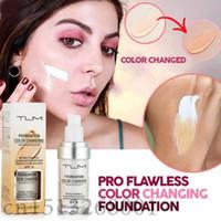 30ml TLM Cambio de color Base de maquillaje líquida Cambie su tono de piel simplemente mezclando el corrector líquido de la cubierta