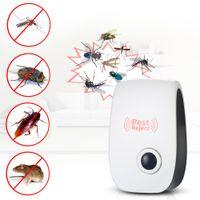 Elektrische Ultraschall-Moskito-Killer-Lampenfalle-Bug Fliegenfänger Insekten-Pest-Steuerung Repeller Zapper Moskitoabweisend