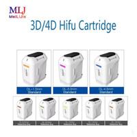 HIFU جهاز الموجات فوق الصوتية 3D 4D خراطيش رئيس لشد الوجه خرطوشة محول للمنزل وصالون