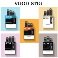 Top Vgod Stig vazio Pod descartável Vape Pen Kit 270mAh bateria totalmente carregada com 1,2 ml vazio pod Capacidade Stig descartáveis Kit