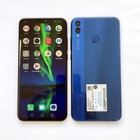 Globale Firmware Huawei Honor 8X Handy 6,5 Zoll Bildschirm 3750mAh Akku Android 8.1 Octa Core 1,5 GHz Dual Black 20.0 + 2.0MP