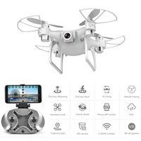 Drone HD كاميرا بدون طيار L26 480P 720P طائرة أربعة محور HD WiFi Aerial التحكم عن بعد طائرات قطرة