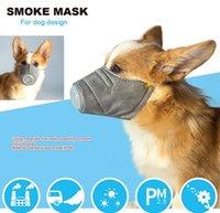 Haustier atmungsaktiv hund pm2.5Prevent weiche Baumwolle Mundmaske Anti-Nebel-Atmungsmaske Masken 3pcs / set Haustier-Staubmaske Gesichtsschutzzubehör GuLo