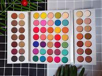 Makyaj Göz Farı Muhteşem Me Tepsi 63 Renkler Makyaj Paleti Glitter Göz Farı Popüler Brown ve Toprak rengi Güzellik Sırlı
