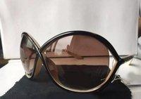 Occhiali di marca di lusso-alto Modo Tom Nuovo per uomo Donna Occhiali da sole Eyewear Ford Designer QUATIY ERIKA ORIGINAL CON SUN WOQIC