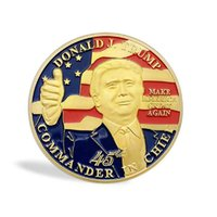 GLSY Donald Trump 45th President Challenge Coin Commemorativ...