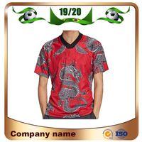 2021 Manchester Année chinoise Chine Jerseys Soccer Jerseys Special Edition Red 19/20 Rashford Pogba Lingard Mata Maguire Football Shirt Un