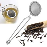 1pc en acier inoxydable Teapot Tea Passoire forme de boule Filtre Mesh Thé Infuser Réutilisable Métal Sachet de thé aux épices Accessoires outils
