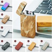 Design Dual-Arc Elektro USB Feuerzeug wiederaufladbare Plasma-windundurchlässige Flameless Zigarette kühles Geschenk für Mann C135