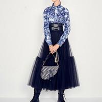 Saias Das Mulheres Runway Luxo Black Shays 2019 Moda Elástica Cintura De Bola De Ball Saias Long Voile Maxi Jupe Longue